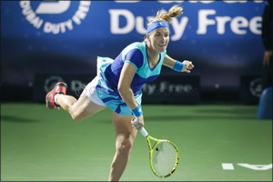 Kuznetsova Sets Her Sights on Finally Claiming the Dubai Duty Free Tennis Championships Trophy