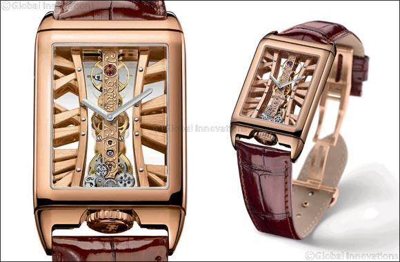 Bridging refinement and watchmaking know-how Corum Golden Bridge Rectangle
