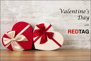 Dress up with REDTAG for your Valentine's Day celebrations