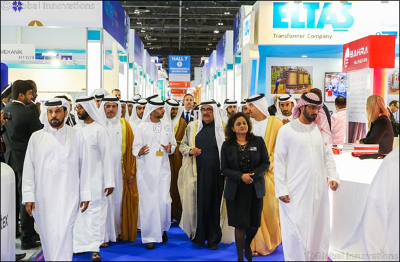 Dubai's Deputy Ruler Opens World's Largest Power Show