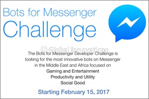 Facebook Challenges Developers In The Middle East And Africa To Create The Smartest Bots For Messeng ...