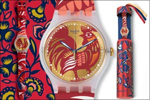 Swatch Crows at Dawn for Chinese New Year