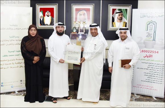Awqaf and Minors Affairs Foundation Donates Over AED2.5 Million to UAE Charity Organizations
