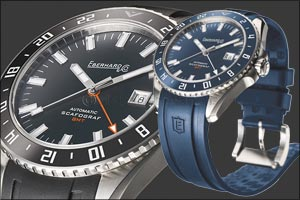 Eberhard & Co. introduces the new SCAFOGRAF GMT