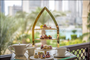 An Exuberant Tryst Between Afternoon Tea and the Glamour of BVLGARI at The Palace Downtown Dubai