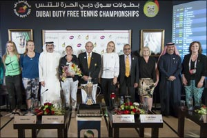 Kerber Faces Tough Challenge at Dubai Duty Free Tennis Championships