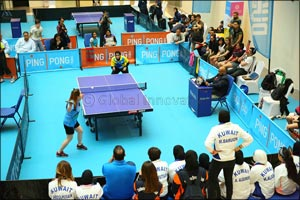 Double the Fun at UAE Table Tennis and Badminton Women's Open Championships