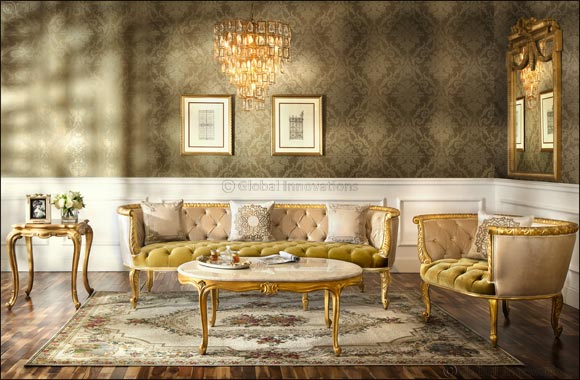 2XL's Valeria collection defines the ultimate luxury living room