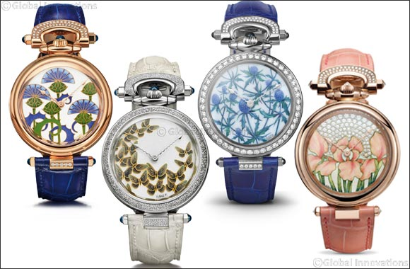 'Dials Inspired by Nature' - Limited Edition Ladies Timepieces by BOVET, Crafted in collaboration with Ilgiz Fazulzyanov