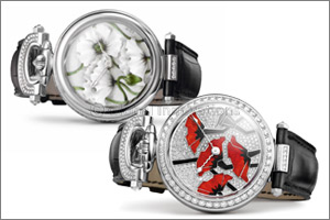'Dials Inspired by Nature' - Limited Edition Ladies Timepieces by BOVET, Crafted in collaboration wi ...
