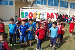 AMSI schools rise to UAE's call of National Sports Day