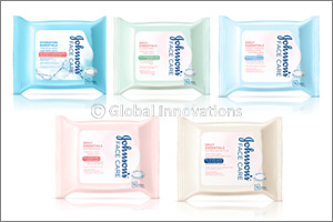 Simplify your cleansing routine with Johnson's Facial Wipes � convenience in a busy world