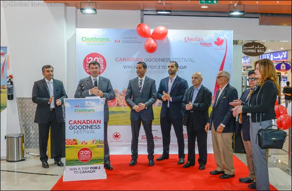Choithrams Hosts 'Canadian Food Festival' Across its Stores