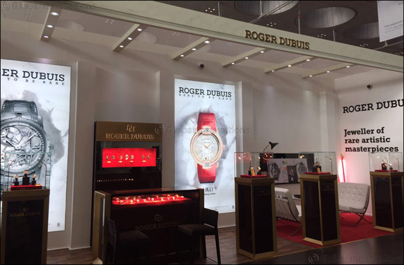 Roger Dubuis at Doha Jewellery and Watches Exhibition 2017