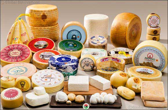 AFIDOP Presents Seven Unique P.D.O Cheeses at Gulfood 2017