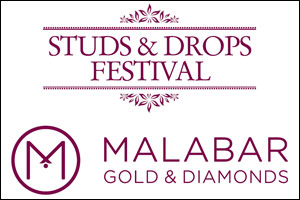 Malabar Gold & Diamonds presents Studs & Drops Festival, showcasing a variety of earrings from over  ...