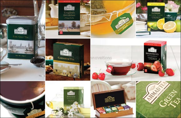 The world's most exclusive tea, Ahmad Tea, adds flavour to your life