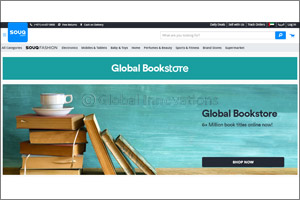 SOUQ.com Launches �Global Bookstore' with over 6 Million Books on the Platform