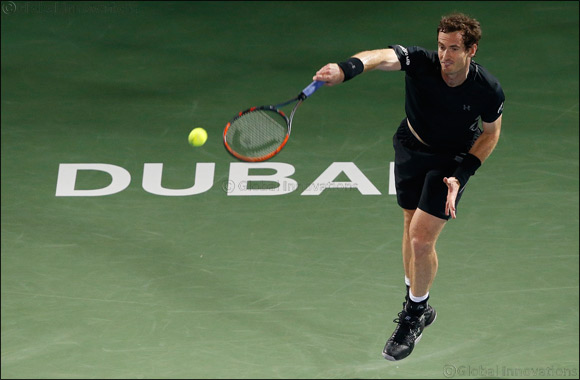 Wawrinka Upset but Murray Wins at Dubai Duty Free Tennis Championships
