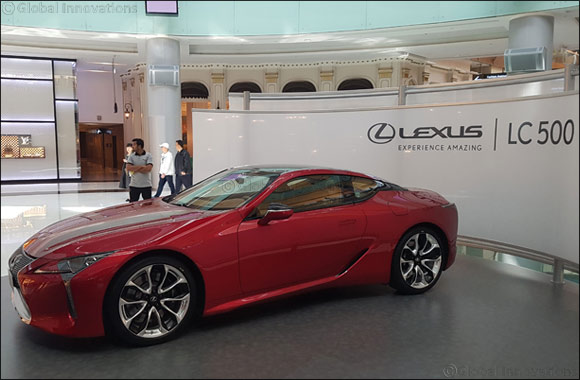 Performance coupe Lexus LC 500 brings a new chapter of amazing experiences in its first UAE debut