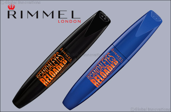 Rimmel London Introduces New Scandal'Eyes Reloaded Mascara Extreme Black & Waterproof