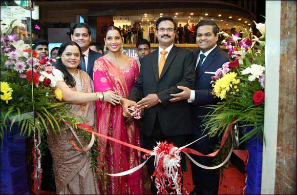 Bollywood actress BipashaBasu inaugurates the new Al Adil Meena Bazaar outlet