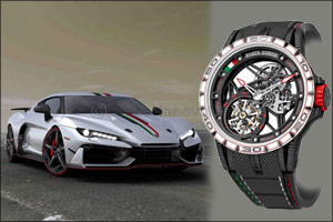 Powerful new partnership between Roger Dubuis and Italdesign