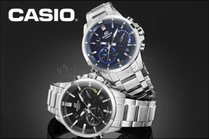CASIO launches its latest range of analog watches that automatically connect to Internet time server ...