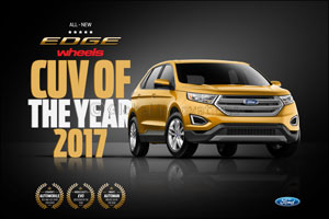 Ford Edge, the Region's Most Nominated CUV, Scoops Another Recognition During Awards Season with whe ...