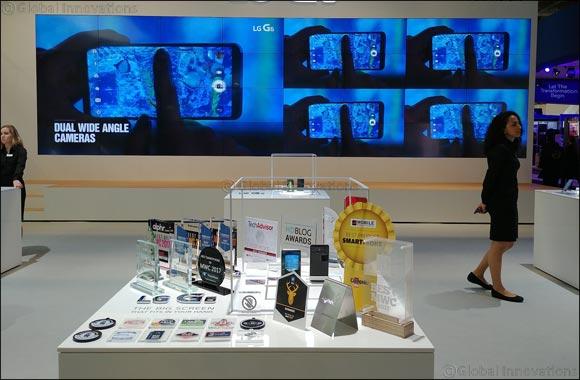 LG G6 Wins Multiple Best Smartphone Awards at Mobile World Congress 2017