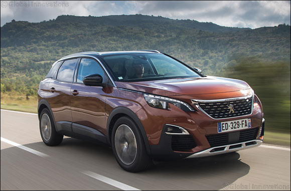 "New PEUGEOT 3008 SUV named ""Car of the Year 2017"""