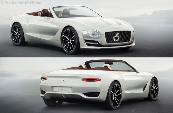 Bentley EXP 12 Speed 6e concept: The Luxury Electric Vehicle