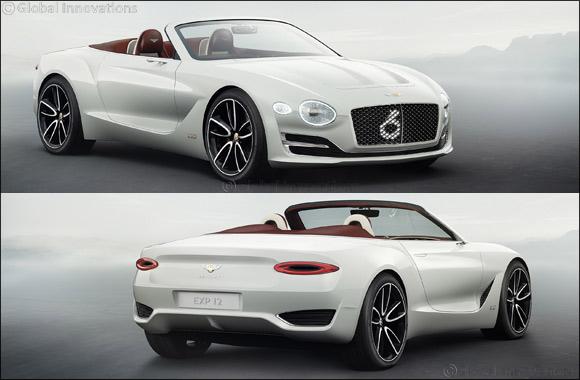 bentley exp 12 speed 6e concept: the luxury electric vehicle