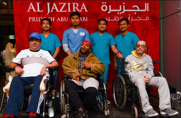 Al Jazira's win over Al Ain gets extra special as differently-abled persons join in their victory