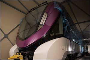 Alstom delivers on time the first metro trainset to Riyadh
