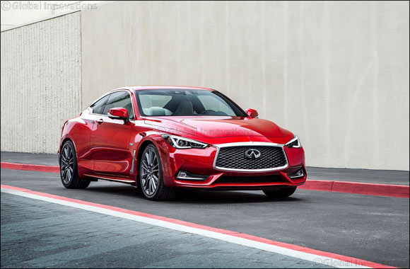 INFINITI of Arabian Automobiles Company debuts all-new Q60 Red Sport 400 Coupe