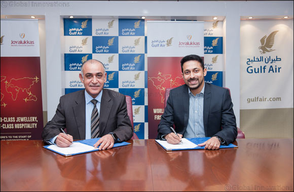 Joyalukkas launches loyalty rewards partnership with Bahrain's national carrier Gulf Air