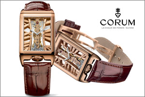 Bridging refinement and watchmaking know-how Golden Bridge Rectangle