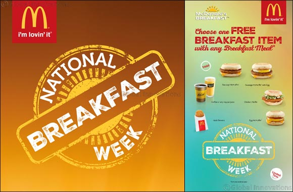 Breakfast to Be Available Around the Clock as McDonald's UAE Launches National Breakfast Week