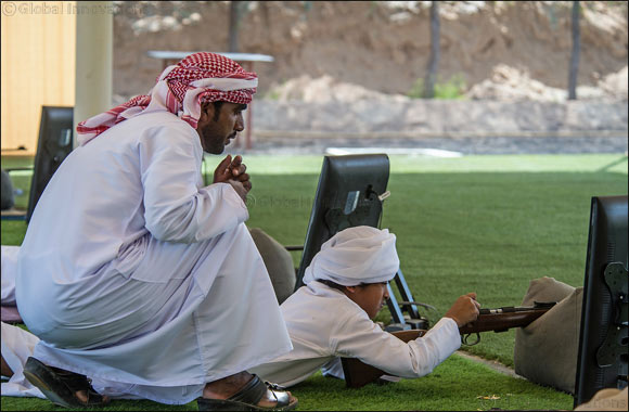 100 kick-off first day of qualifying for Fazza Championship for Shooting Saktoun Riffle for Locals