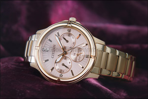Eco-Drive FD2033-52W: Elegant timepiece from Citizen