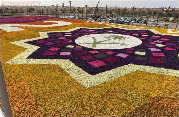 Royal Commission of Jubail & Yanbu Reclaim the Guinness World Record Title for 'Largest Carpet of Flowers'