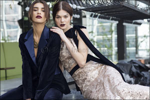 Cocktail and Bridal Couture by International Brand Label based in Dubai, Kara by award-winning desig ...