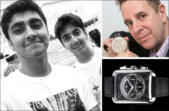 Louis Moinet donates Luxury Timepiece to help orphans in India