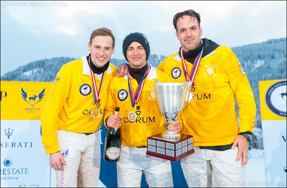 Team CORUM scores dominant win in 15th Snow Polo World Cup in Kitzbuhel