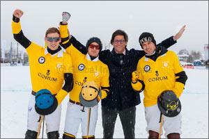 Team CORUM scores dominant win in 15th Snow Polo World Cup in Kitzbuhel