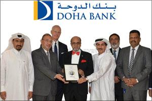 Doha Bank named �Best Trade Finance Bank' in Qatar at Global Finance Awards 2017