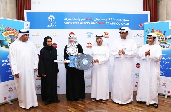 ADNOC Distribution Awards Grand Prizes of 'Oasis of Surprises' Promotional Campaign