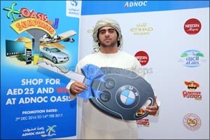 ADNOC Distribution Awards Grand Prizes of �Oasis of Surprises' Promotional Campaign