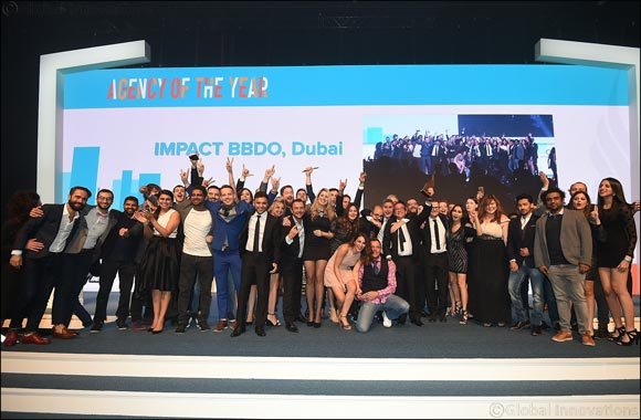 Impact BBDO Crowned Agency of the Year at Dubai Lynx 2017